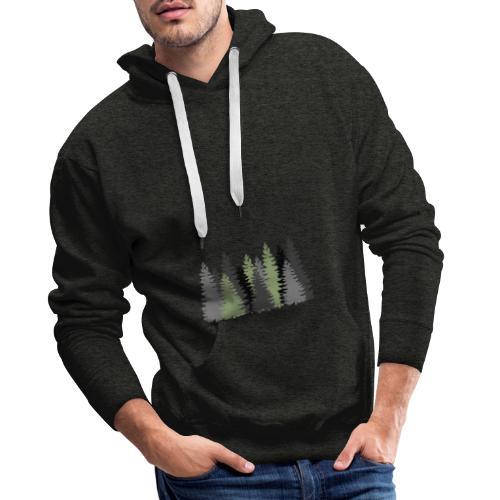 Waldbild - Männer Premium Hoodie