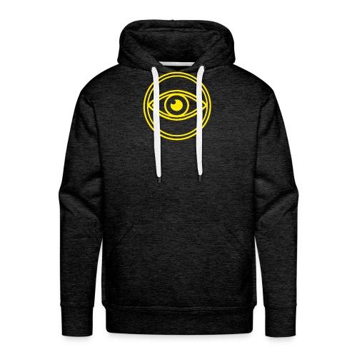 le voyant jaune - Sweat-shirt à capuche Premium pour hommes