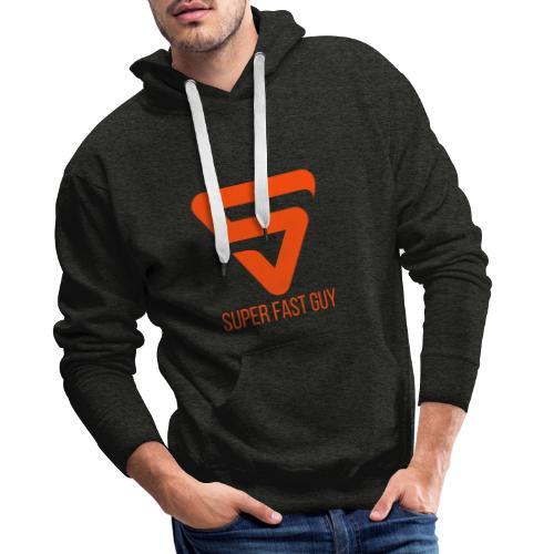 Super Fast Guy - Sweat-shirt à capuche Premium pour hommes