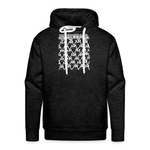 Miauw - Mannen Premium hoodie