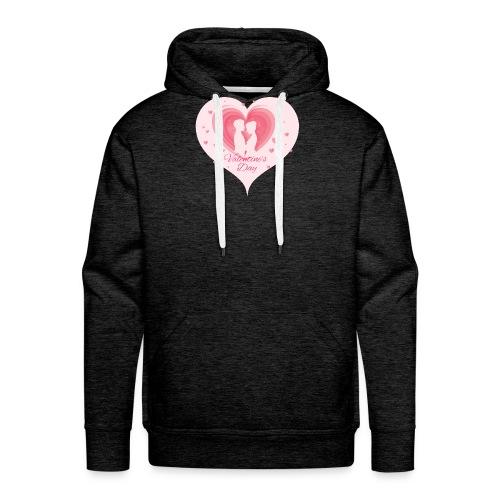 Valentinstag - Männer Premium Hoodie
