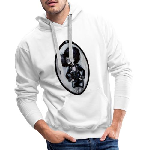 Trad Goth Art by E. R. Whittingham - Men's Premium Hoodie
