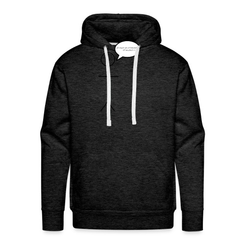 The StickMan - Sweat-shirt à capuche Premium pour hommes