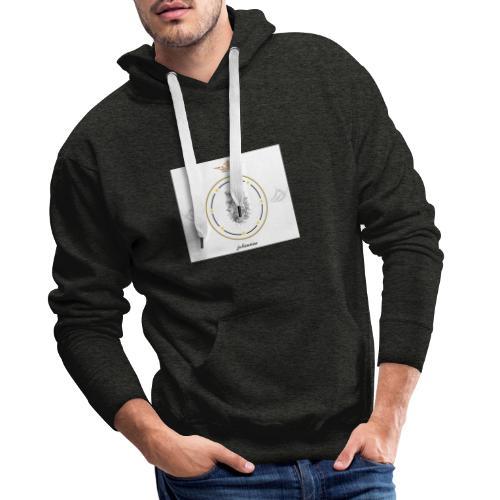 juliensims - Sweat-shirt à capuche Premium pour hommes