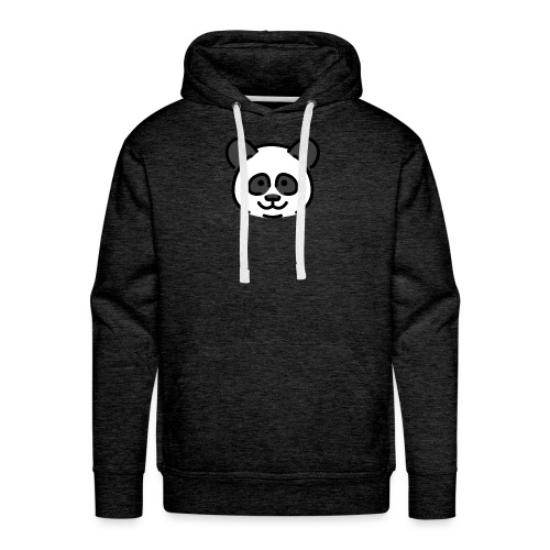 panda head / cabeza de panda - Sudadera con capucha premium para hombre