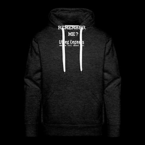 Remember me? - Mannen Premium hoodie