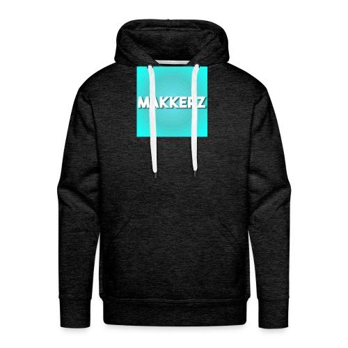 Makkerz Logo 2 - Men's Premium Hoodie