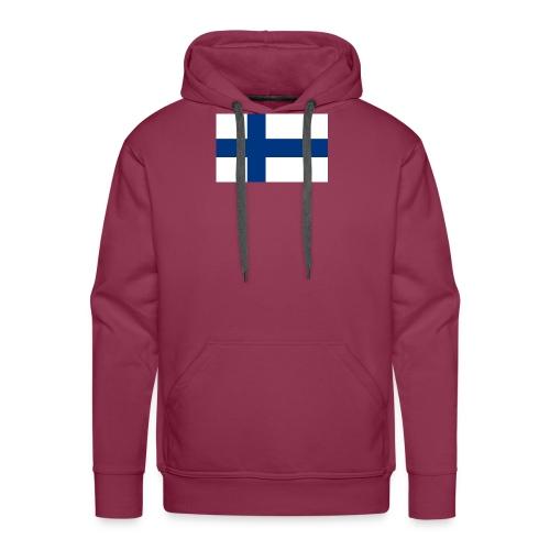 800pxflag of finlandsvg - Miesten premium-huppari
