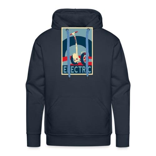 ELECTRIC - Sudadera con capucha premium para hombre