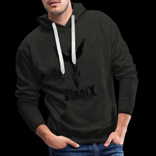 LOGO birdix 30x35cm - Sweat-shirt à capuche Premium pour hommes
