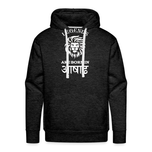 Asar, the third month of Nepali Calender - Men's Premium Hoodie