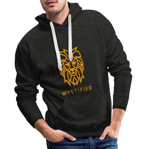 Mystified Oranje Leeuw - Mannen Premium hoodie