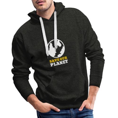 Save our planet Umweltschutz - Männer Premium Hoodie