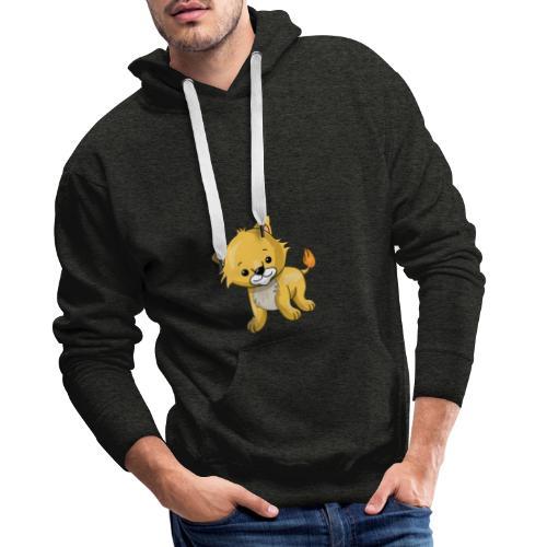 Babyleeuw - Mannen Premium hoodie