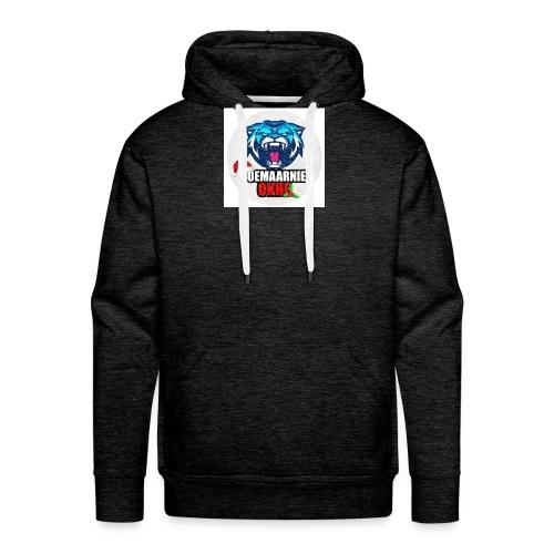 DoeMaarNiet.Okhe - Mannen Premium hoodie