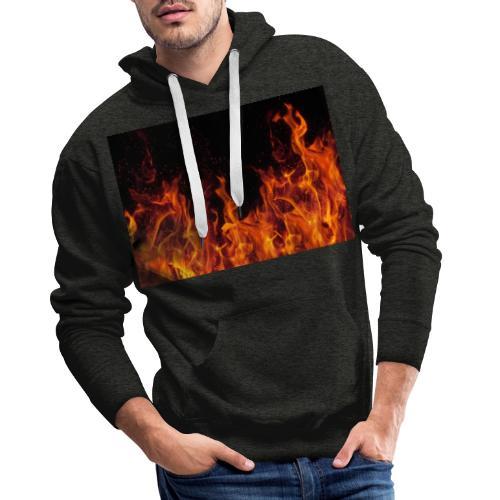 Feuer c OlgaMiltsova iStock GettyImages scaled - Männer Premium Hoodie