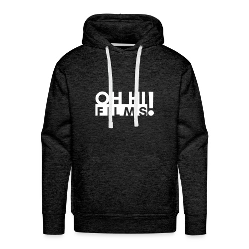OH HI Films White Logo Official Shirt - Men's Premium Hoodie