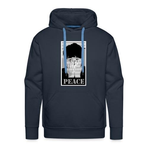 look - Sweat-shirt à capuche Premium pour hommes