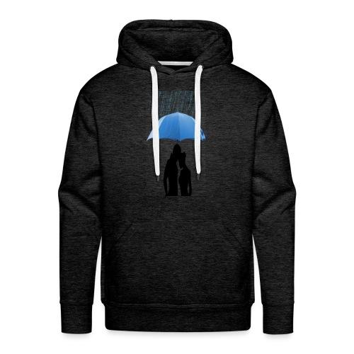 Love under the umbrella - Mannen Premium hoodie
