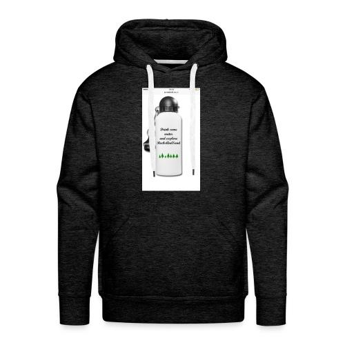 RocksAndSand adventure bottle - Men's Premium Hoodie