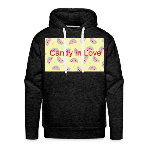 Merchandise Candy In Love - Mannen Premium hoodie