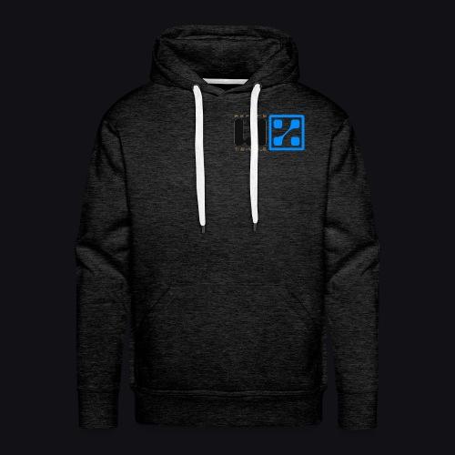 LIZ Before the Plague (Logo) - Felpa con cappuccio premium da uomo