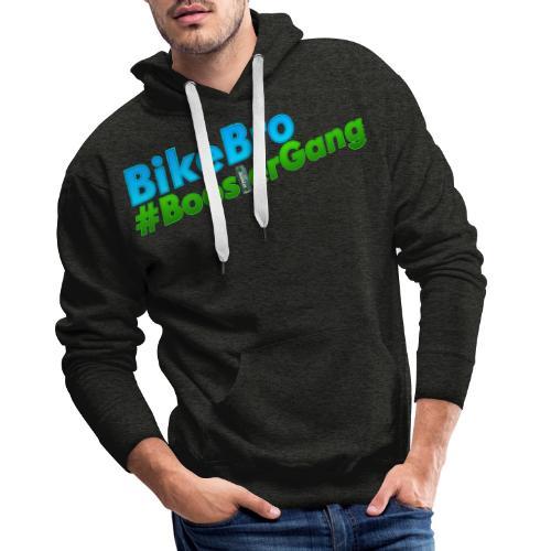 Bikebro #BoosterGang - Herre Premium hættetrøje