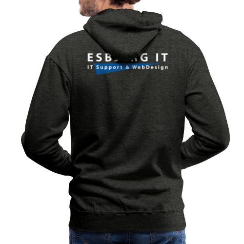 Esbjerg IT - Herre Premium hættetrøje