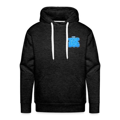 smaller topdog logo - Men's Premium Hoodie
