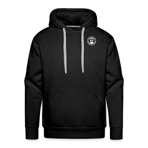 Logo officiel blanc - Sweat-shirt à capuche Premium pour hommes