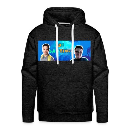 De Santings Banner Design - Mannen Premium hoodie