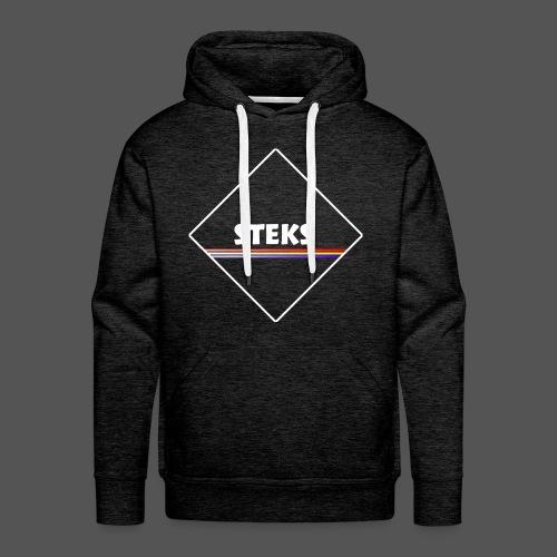 3Color STEKS™ Logo - Mannen Premium hoodie