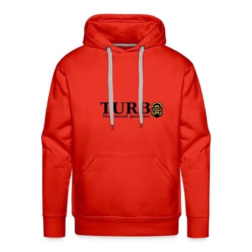TURBO natural power - Miesten premium-huppari