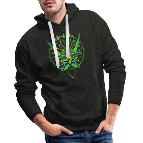 Evolve / Triceratops - Sweat-shirt à capuche Premium pour hommes