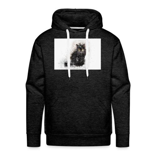 Katze stevanka - Männer Premium Hoodie