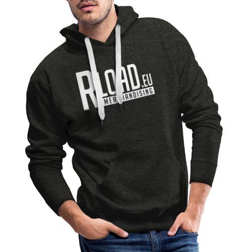 Logo Merchandising (Bianco) - Felpa con cappuccio premium da uomo