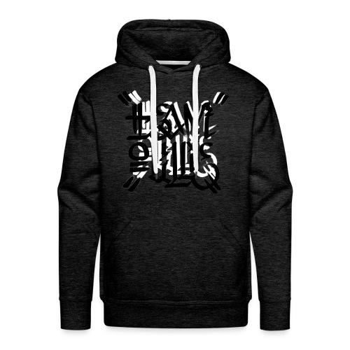 teamoullie logo white - Mannen Premium hoodie