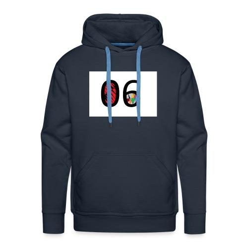 06 Basic - Sweat-shirt à capuche Premium pour hommes