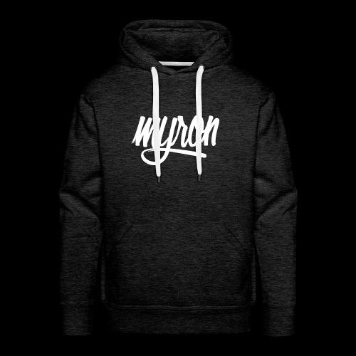 Myron - Mannen Premium hoodie