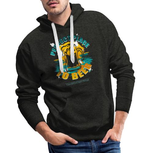 a perfect place to beer - Männer Premium Hoodie
