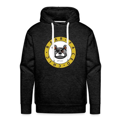 Bear Faced Chic Original Logo - Men's Premium Hoodie
