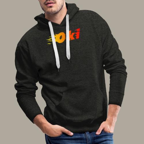 Oki Fuego - Gru - Sweat-shirt à capuche Premium pour hommes
