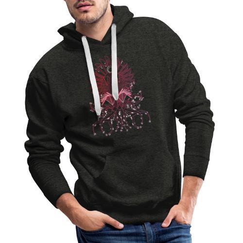 Octopus / Couleur - Sweat-shirt à capuche Premium pour hommes