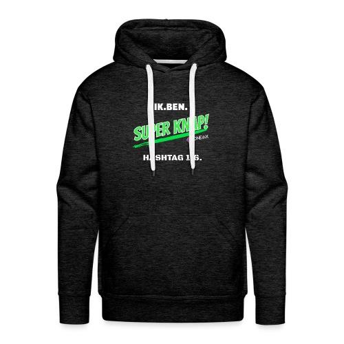 Ik ben knap - Mannen Premium hoodie
