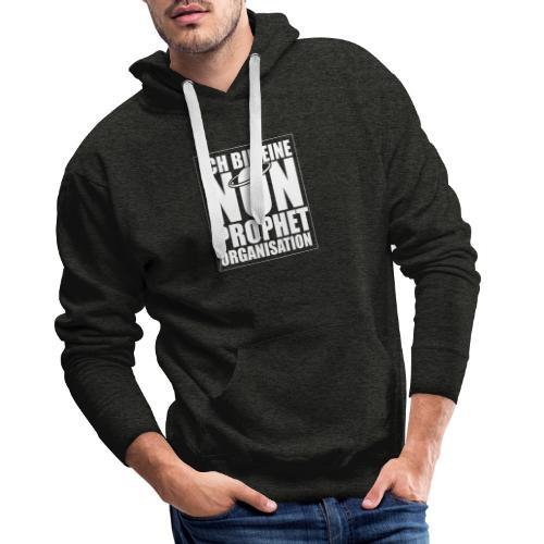 Non-Prophet Organisation (weiss) - Männer Premium Hoodie