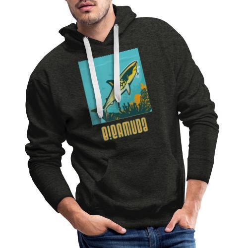 B!ermuda T shirt - Sweat-shirt à capuche Premium pour hommes