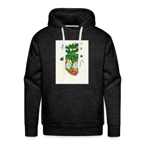 Crazy pineapple - Men's Premium Hoodie