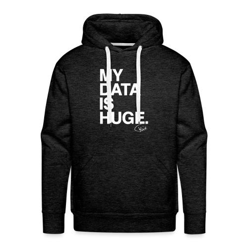 My Data Is Huge - Mannen Premium hoodie