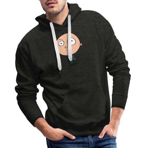 Grimmiger Junge - Männer Premium Hoodie