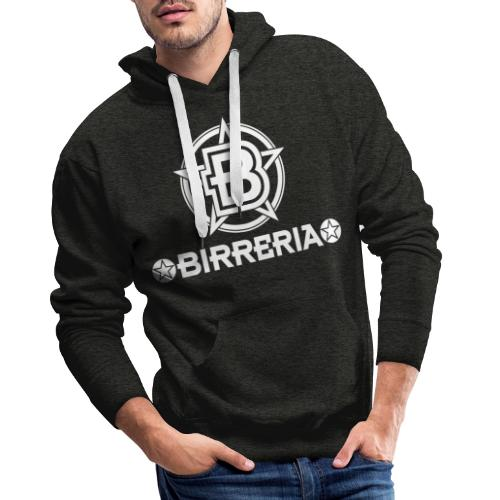 Logo Birreria 2021 white - Männer Premium Hoodie